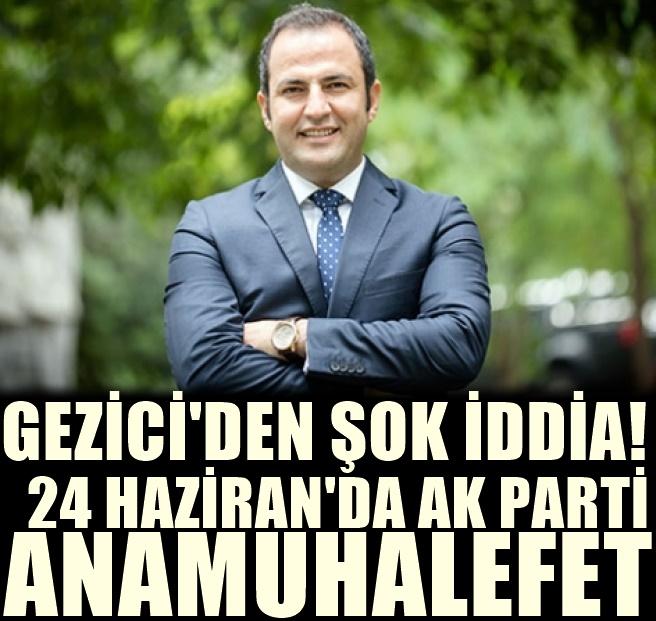 Murat Gezici'den 24 Haziran Seçimleri için şok eden tahmin!