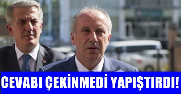 Muharrem İnce: CHP'de kriz var diyorlar..