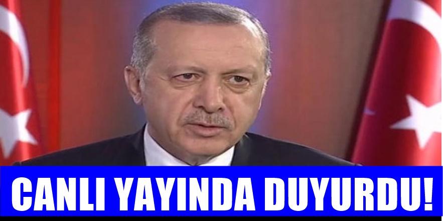 Erdoğan, Atatürk Havalimanı'nın ne olacağını açıkladı
