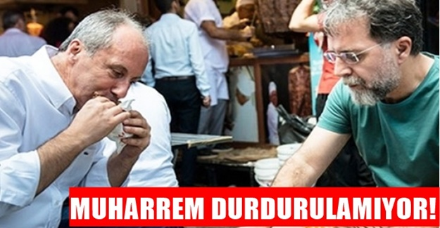 Ahmet Hakan: Muharrem İnce 5 şeyi yere çaldı