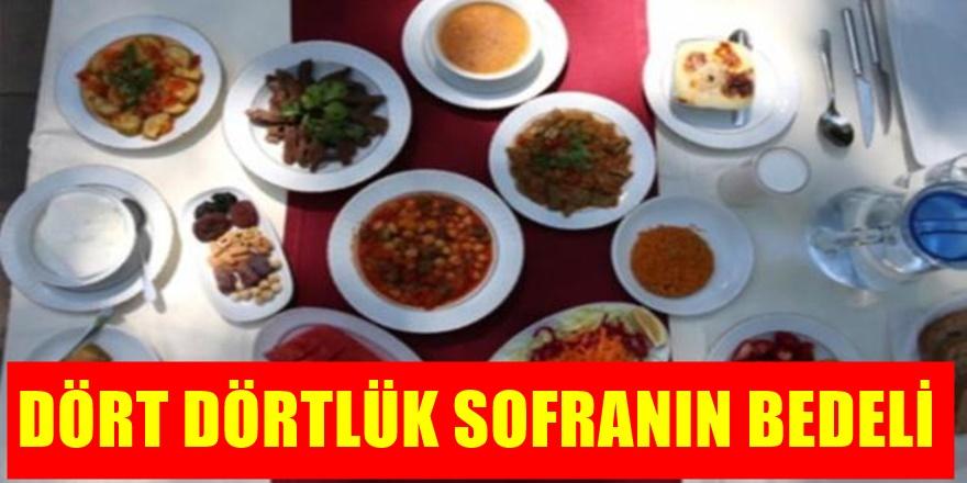 En pahalı sofra Türkiye'de kuruluyor