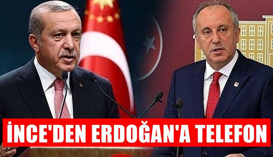 Muharrem İnce'den Erdoğan'a sürpriz telefon