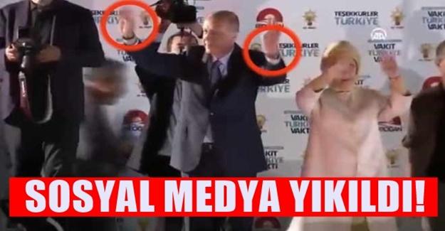 Erdoğan balkon konuşmasına iki saatle çıkmış