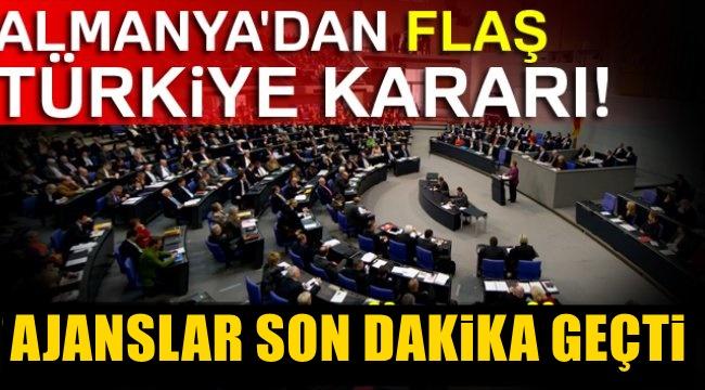 Almanya'dan flaş Türkiye kararı! Uzatılmayacak
