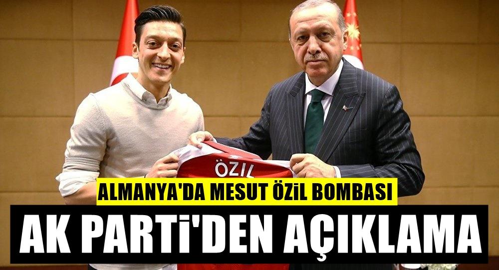 Mesut Özil bıraktı! Ak Parti'den flaş açıklama geldi