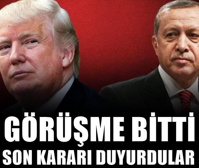Abd'den Türkiye Açıklaması! Son kararı duyurdular