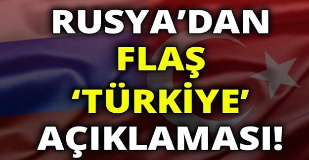 Son Dakika gelişmesi : Rusya'dan Türkiye duyurusu