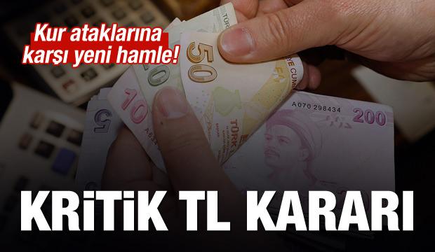BDDK'dan Kritik TL kararı! Kur ataklarına karşı yeni önlem