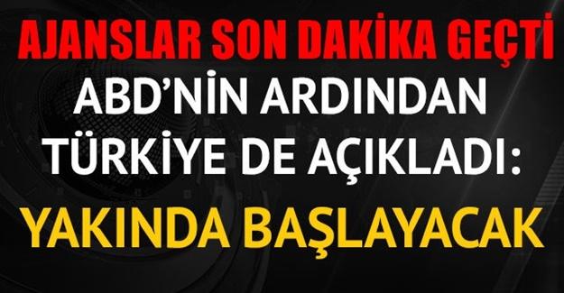 ABD ile Türkiye'den ortak karar
