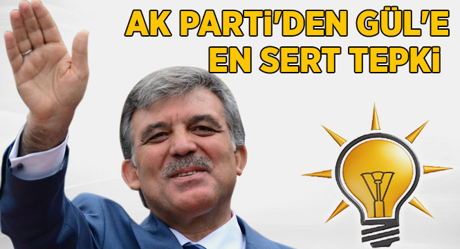 AK PARTİ'nin İlk Başbakanı Abdullah Gül hain ilan edildi :