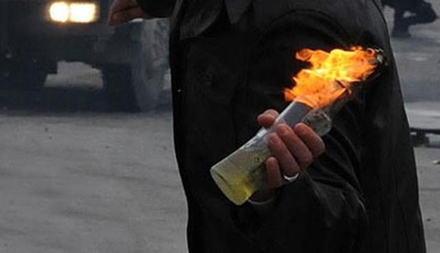 Diyarbakır, Yenişehir'de Baz İstasyonlarına Molotoflu Saldırı