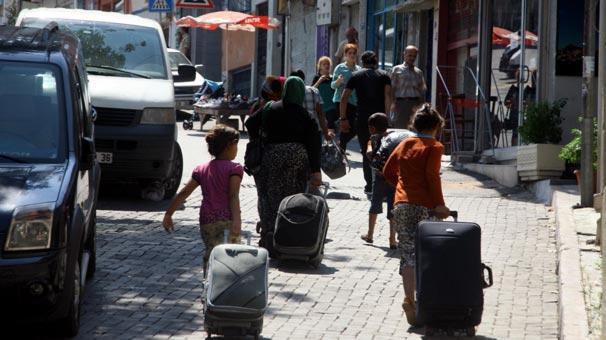 Suriyeliler Cerablus'a dönüyor