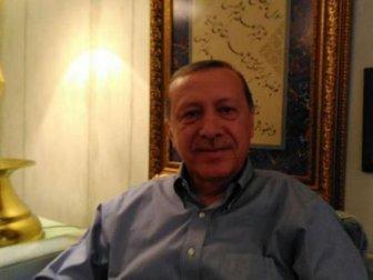 Zafer sonrası Erdoğan'dan ilk poz paylaşıldı!