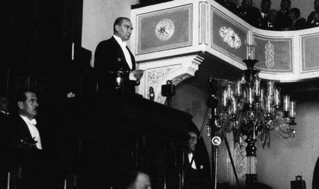 Atatürk'ün yazdığı film senaryosu nerede?