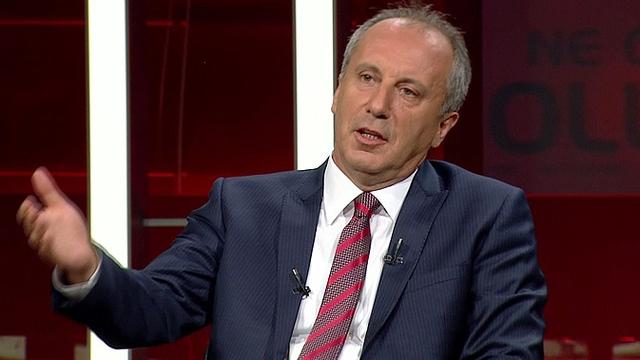 Muharrem İnce Kılıçdaroğlu'na meydan okudu!