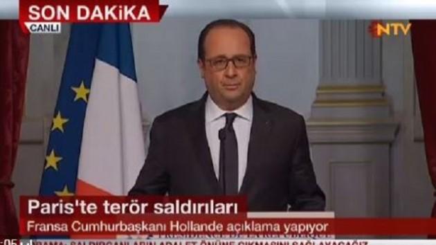 Fransa olağanüstü hal ilan etti, ordu Paris'e indi!