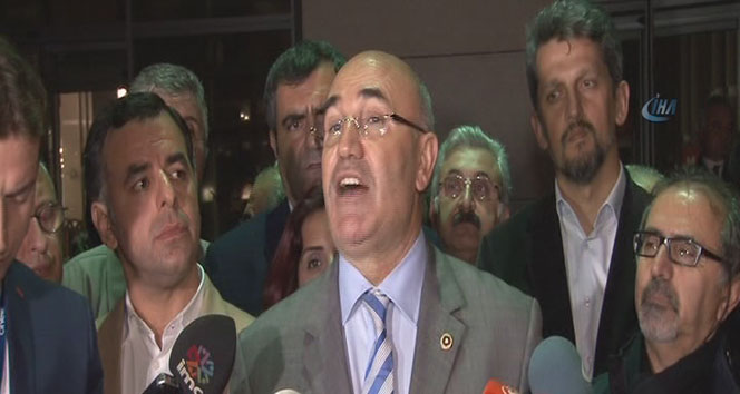 CHP'li milletvekillerinden tutuklama açıklaması