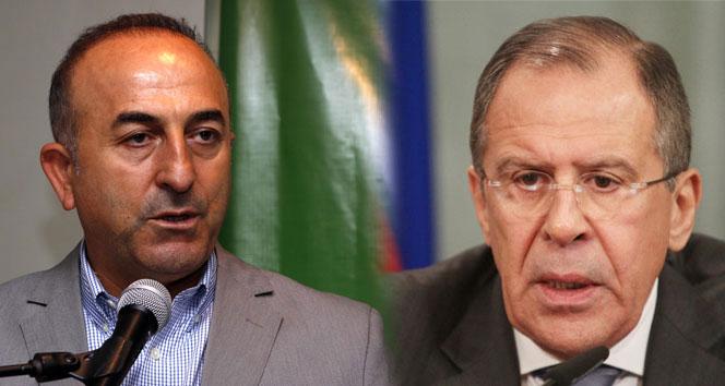 Çavuşoğlu-Lavrov görüşmesi sona erdi