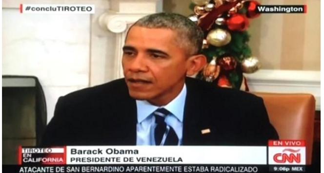Obama'yı bakın nerenin başkanı yaptılar?
