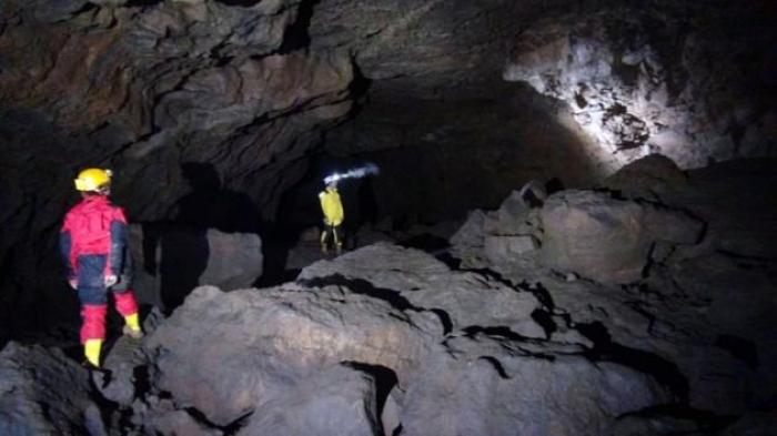 Türkiye'nin ilk lav tüpü mağarası keşfedildi