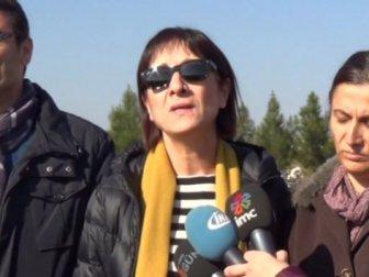 Gülten Kaya Tahir Elçi'nin mezarını ziyaret etti