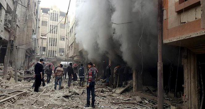 Rusya'dan Suriye'de sivil katliam