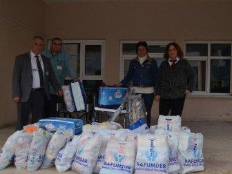 Bafumder'den Hastane Ve Öğrencilere Destek