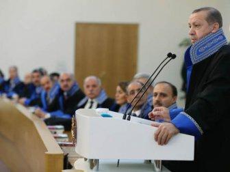 Erdoğan Sayıştay Genel Kuruluna katıldı
