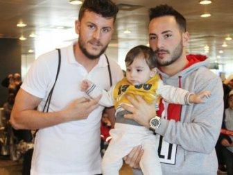 Trabzonsporlu futbolcu umre yolunda