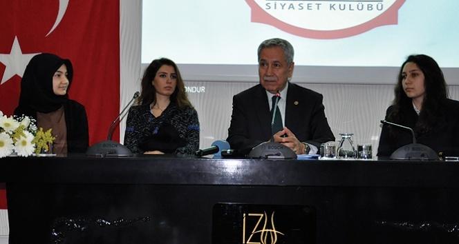 Bülent Arınç 13 yıllık iktidarın sırrını açıkladı