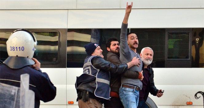Malatya'da Ülkücülerle HDP'liler birbirine girdi