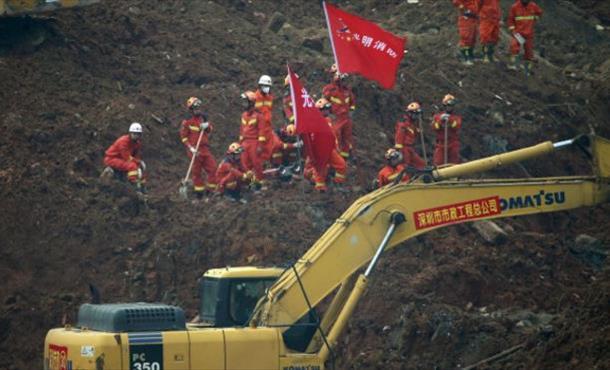 Çin'deki toprak kaymasıyla ilgili 11 kişi tutuklandı