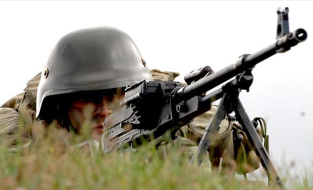 Suriye sınırında asker teyakkuzda
