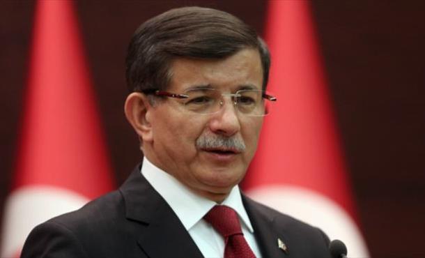 Davutoğlu, AK Parti kampında konuştu