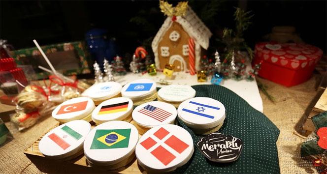 Elvan Başarı'dan kurabiyelerle barış mesajı