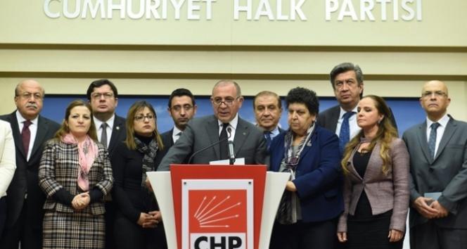 CHP o akademisyenlere sahip çıktı