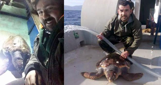 Balıkçıları şok eden sürpriz