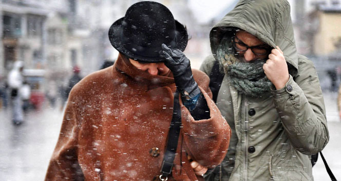 18 Ocak 2016 yurtta hava durumu