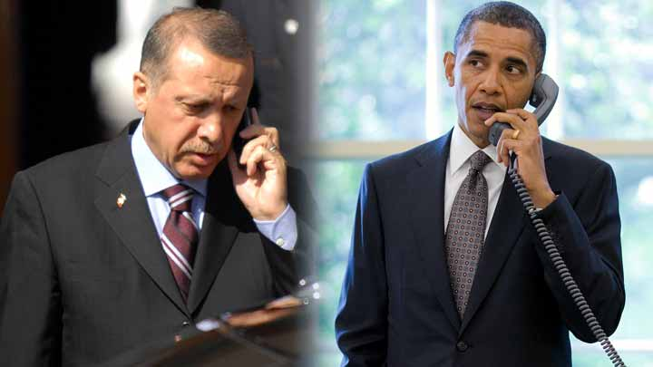 Erdoğan ve Obama'dan dikkat çeken görüşme!