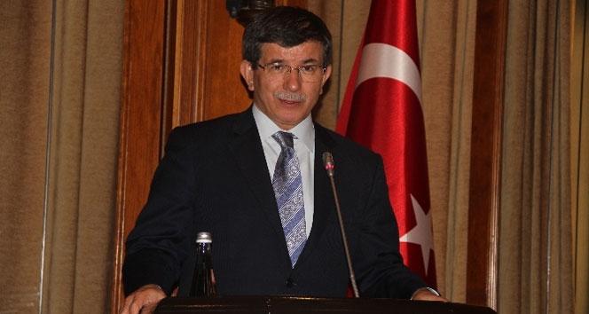 Davutoğlu, Çinli bakanı kabul etti