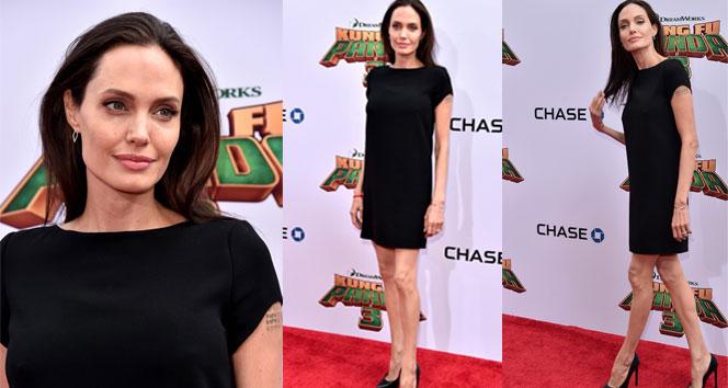 Angelina Jolie eriyor