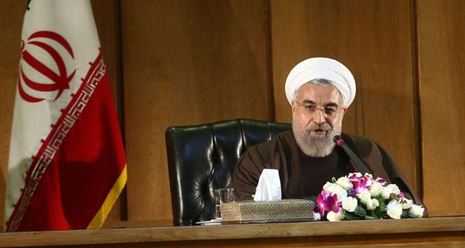 Ruhani: 'Çin ve İran arasındaki...'