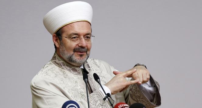Diyanet İşleri Başkanından 'DAİŞ' açıklaması