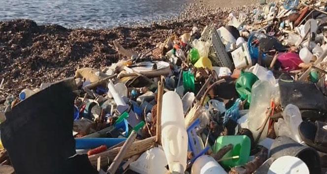 Akdeniz'de çöp tehlikesi büyüyor