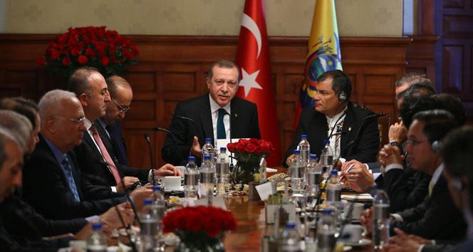 Erdoğan'dan 'Cenevre görüşmeleri' açıklaması