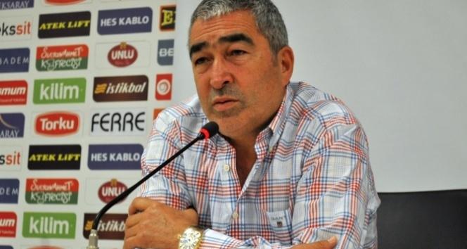 Aybaba: 'Bir puan bizim için kazanç'