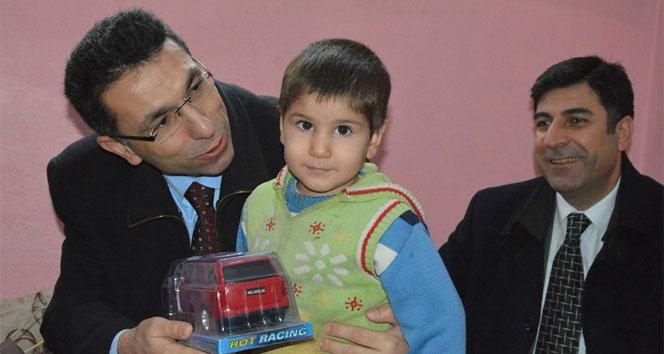 Cizre'den gelen ailelere şefkat eli
