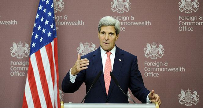 Kerry: 'Suriye'de 1 hafta içerisinde....