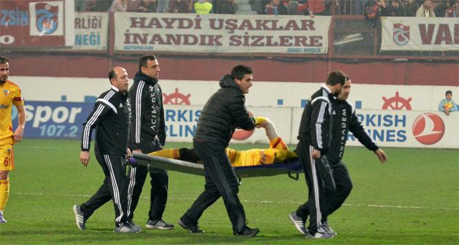 Kayserispor'da şok sakatlık