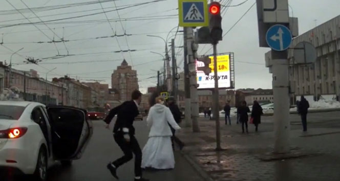'Kaçak Gelin' filmi Rusya'da gerçek oldu